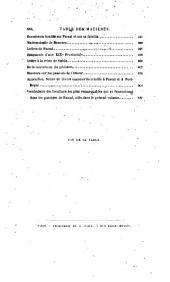 Études Sur Pascal