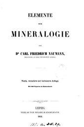 Elemente der Mineralogie. 3. Aufl