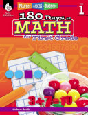 180 Days of Math for First Grade: Practice, Assess, Diagnose