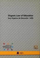 Organic Law Of Education Ley Org Nica De Educaci N Loe  Book PDF