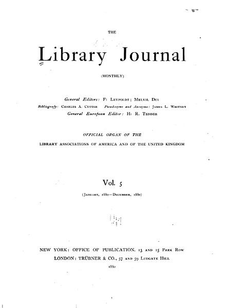 Download Library Journal Book