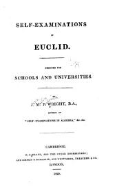 Self-examinations in Euclid