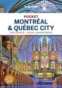 Lonely Planet Pocket Montreal   Quebec City PDF