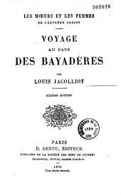 Voyage au pays des bayadères