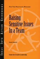 Raising Sensitive Issues in a Team PDF