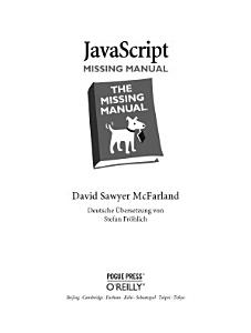JavaScript Missing Manual PDF