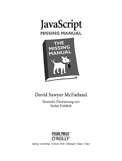 JavaScript Missing Manual PDF