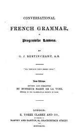 Conversational French Grammar