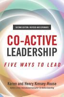 Co Active Leadership  Second Edition PDF