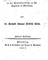 Kanzelrede am letzten Abend des Jahres 1816