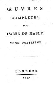 Oevres complètes: Volume 4
