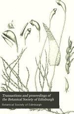 Transactions and Proceedings of the Botanical Society of Edinburgh