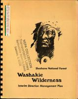 Washakie Wilderness  Oil and Gas Exploration Leasing PDF