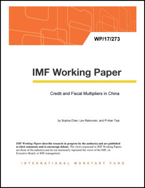 Credit and Fiscal Multipliers in China