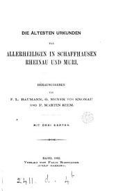 Quellen zur Schweizer Geschichte: Volume 3, Part 2