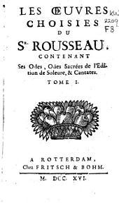 Les œuvres choisies du Sr. Rousseau ...