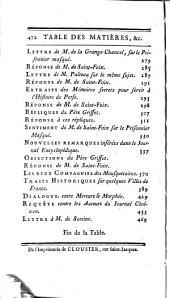 Oeuvres complettes de M. de Saint-Foix: historiographe des Ordres du Roi, Volume5