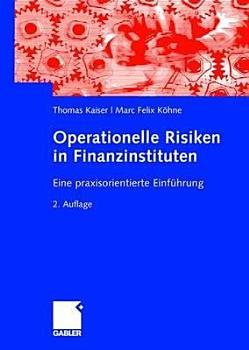 Operationelle Risiken in Finanzinstituten PDF