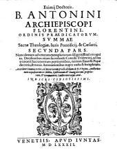 Summa sacrae theologiae, juris pontificij et caesarei. Nunc demum recogn. ...