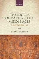 The Art of Solidarity in the Middle Ages PDF