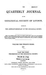 The Quarterly Journal of the Geological Society of London