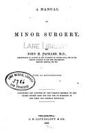 A Manual of minor surgery PDF