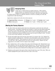 The Gingerbread Man  Reader s Theater Script   Fluency Lesson PDF
