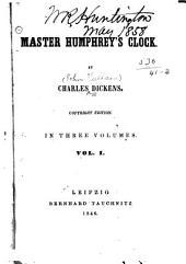 Master Humphrey's Clock: Volumes 1-2