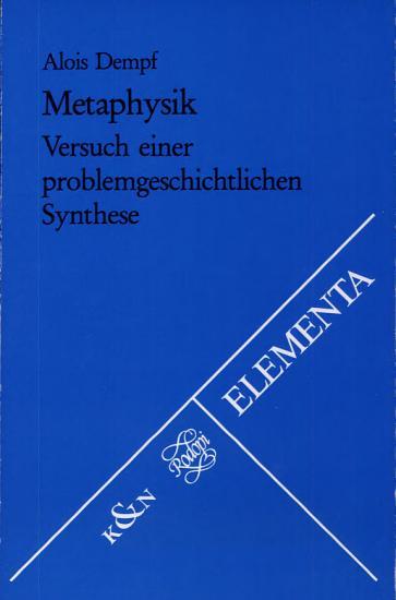 Metaphysik PDF