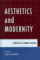 Aesthetics and Modernity PDF