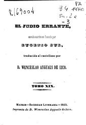El judío errante: Volumen 19
