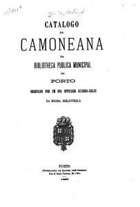 Catalogo da Camoneana da Bibliotheca publica municipal do Porto PDF