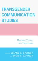 Transgender Communication Studies PDF