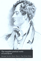 The Complete Poetical Works of Lord Byron