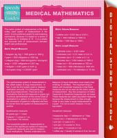 Medical Mathematics (Speedy Study Guides)