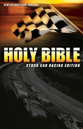 NIV  Holy Bible  Stock Car Racing  eBook PDF