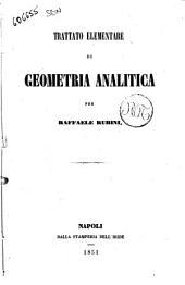 Trattato elementare di geometria analitica per Raffaele Rubini