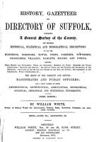 History  Gazetteer and Directory of Suffolk PDF