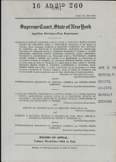Supreme Court State of New York Appellate Division First Department