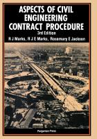 Aspects of Civil Engineering Contract Procedure PDF