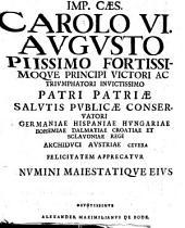 Q. D. B. V. Alexandri Maximiliani De Bode Dissertatio Juris Publici De Ivre Avgvstissimi Imperatoris Et Imperii In Magnvm Etrvriae Dvcatvm