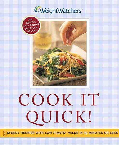 Download Cook It Quick  Book