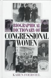 Biographical Dictionary of Congressional Women