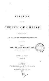 A treatise on the Church of Christ: Volume 2