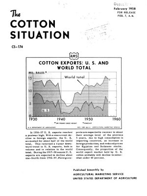 The Cotton Situation