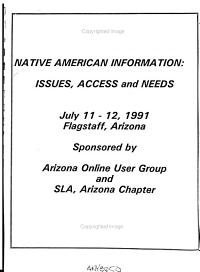 Native American Information