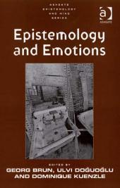Epistemology and Emotions