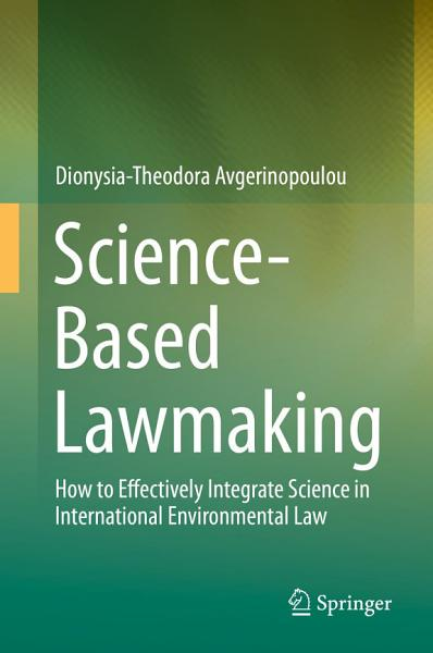 Download Science Based Lawmaking Book