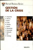 Harvard Business Review on Crisis Management PDF
