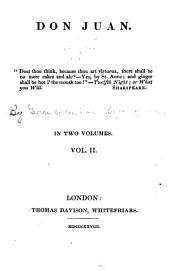 Don Juan ...: In Two Volumes ...